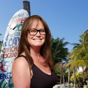 head shot of Megan Miller with Tims Ocean Condos in Cancun Mexico