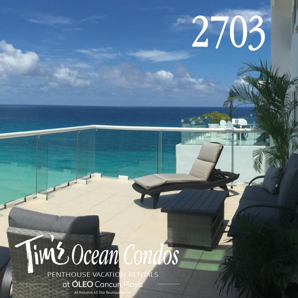 ocean view vacation rental cancun