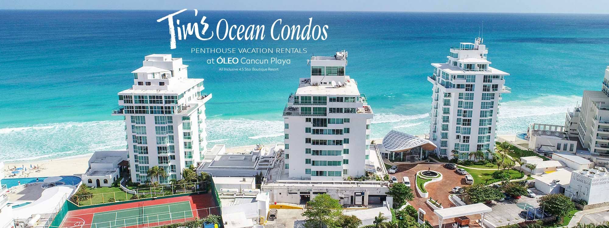 Tim's Ocean Condos Penthouse Vacation Rentals Cancun