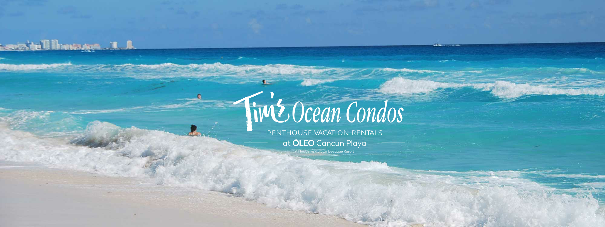 cancun vacation rentals on the ocean