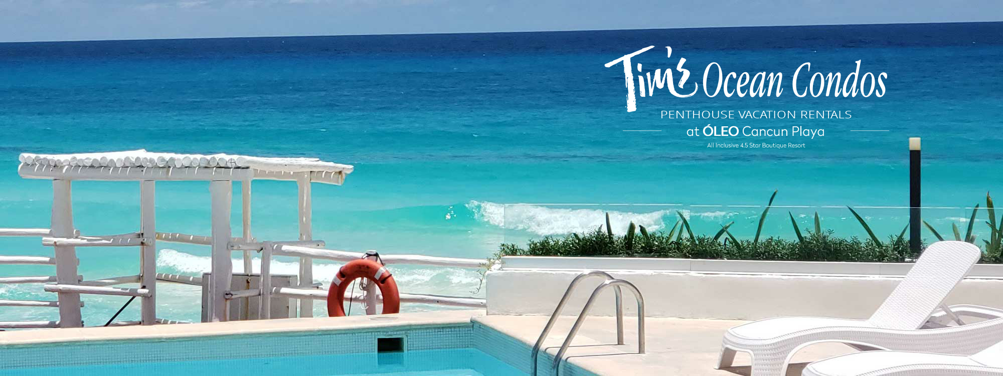 cancun vacation rentals with pool