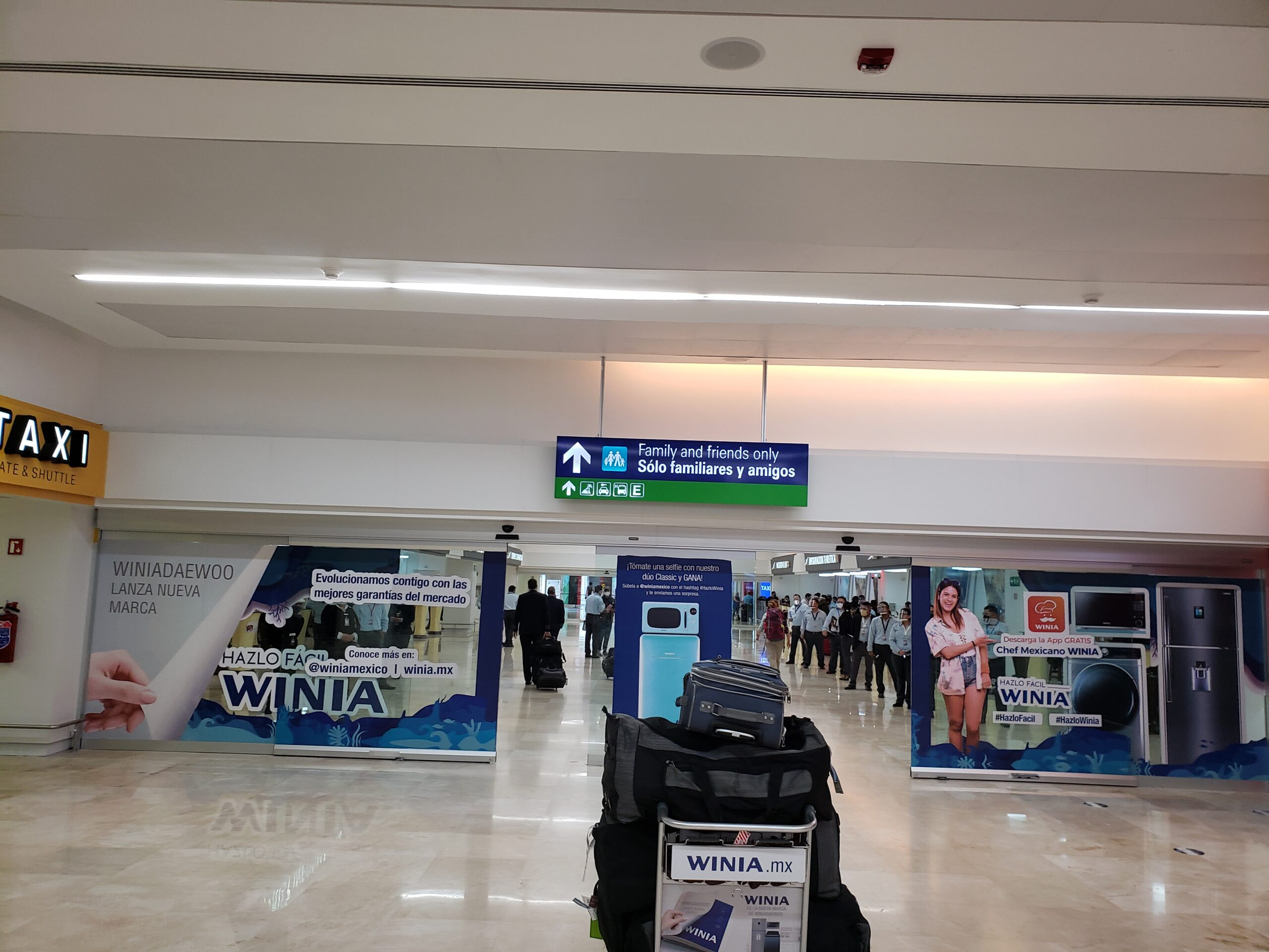 Cancun terminal 4 arrival