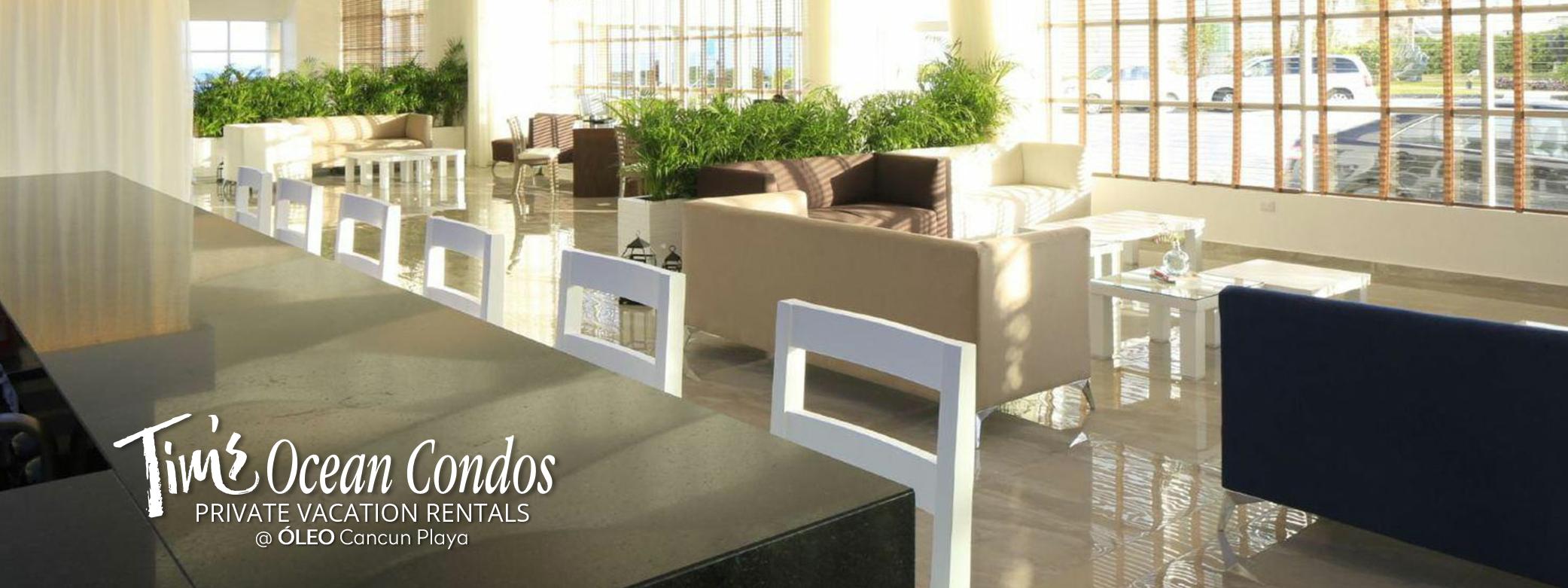 ÓLEO Cancún Playa - Lobby Bar