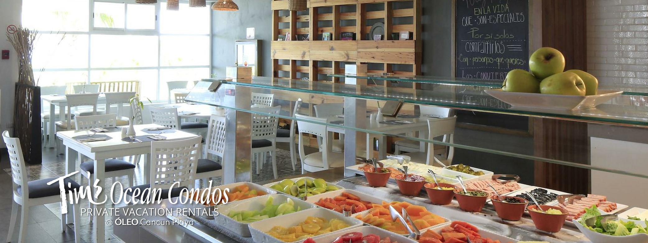 OLEO Cancun Playa - Azul Breakfast Buffet