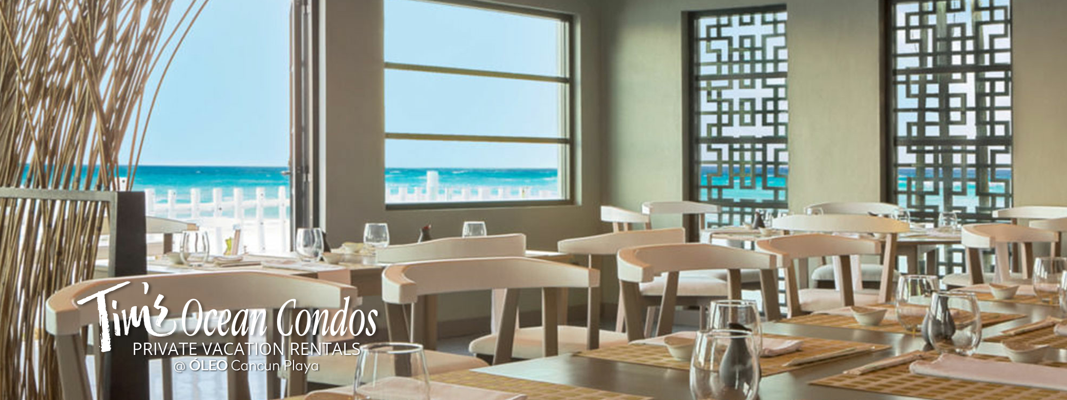 Hakka Ocean view Restaurant - Temaki and Sushi Japanese Cuisine a la carte at Óleo Cancun hotel, as part of the all-inclusive plan