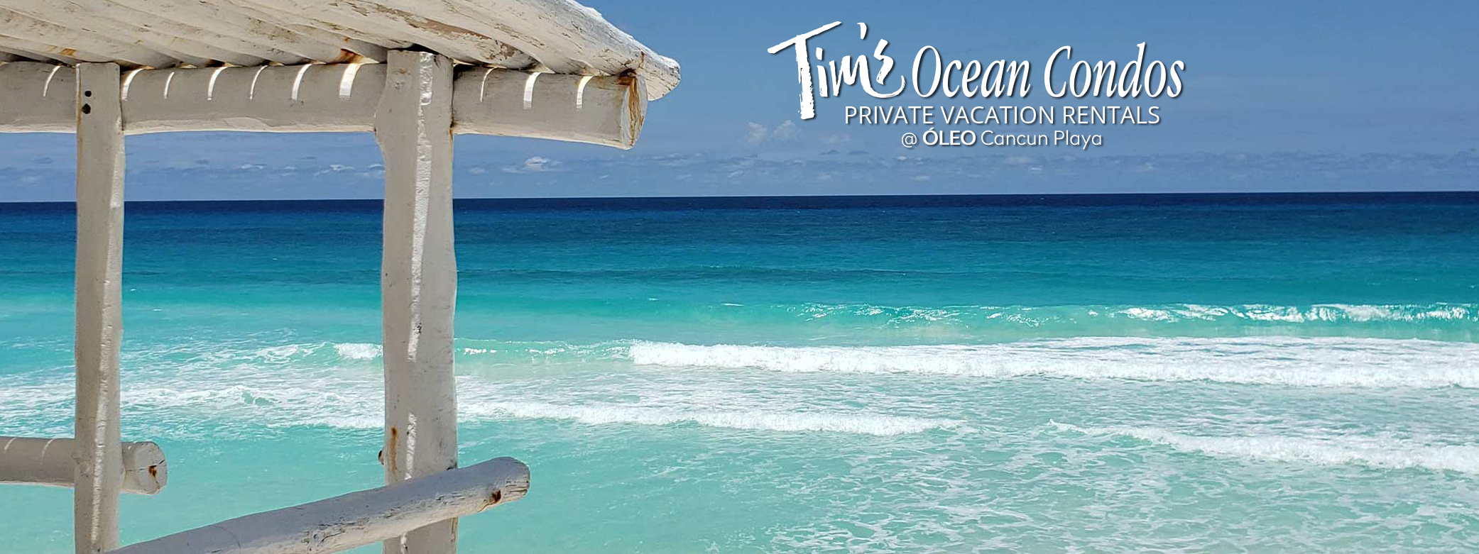 Vacation Rentals on the beach in Cancun Mexico
